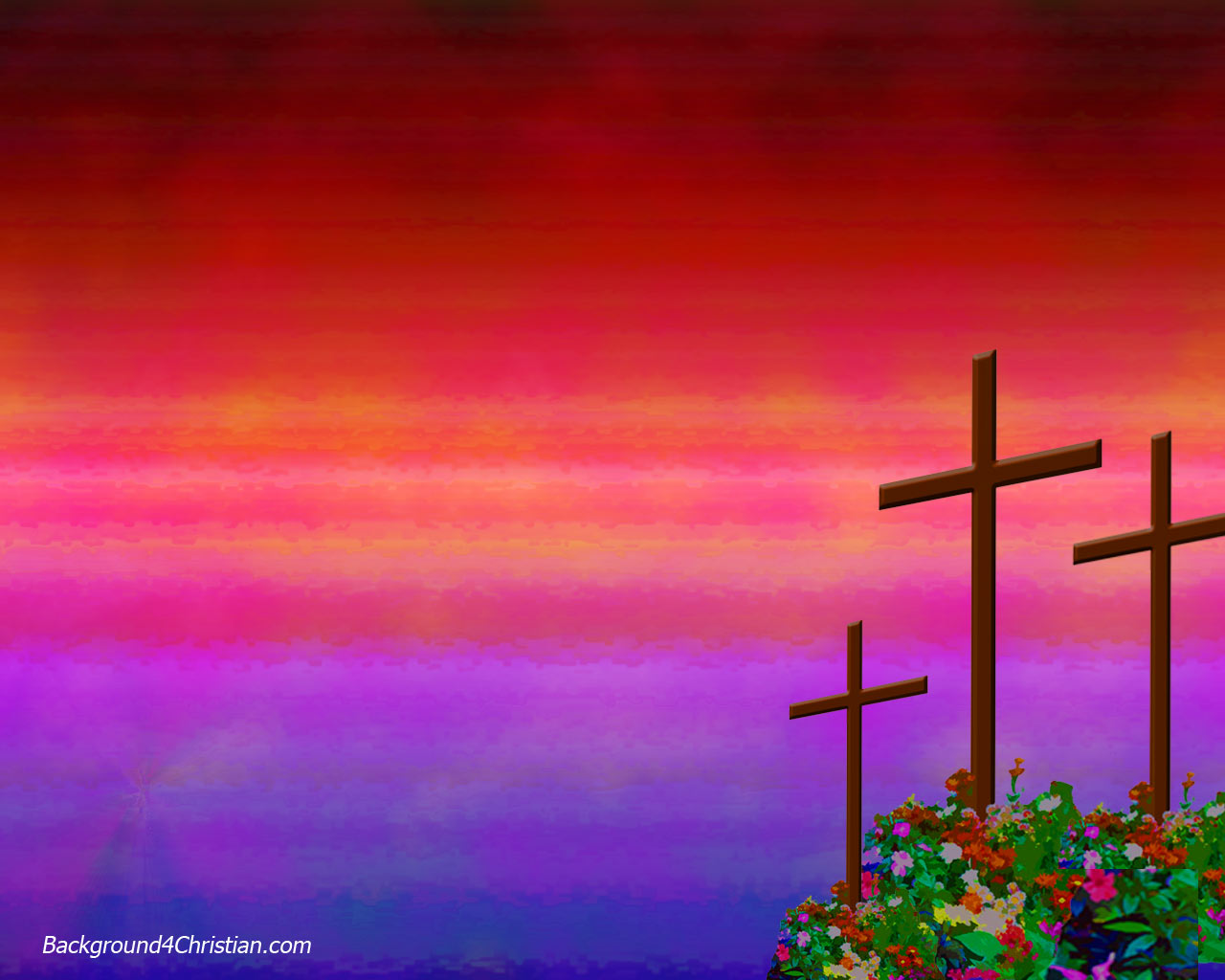 A New Easter Cross Clipart