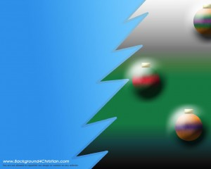 2012 Christmas powerpoint template